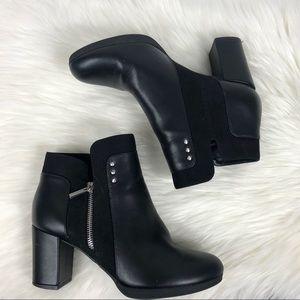 3/$25 Bella Vita loyal II black block heel booties